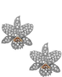 Nina Floral Crystal Stud Earrings