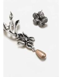 Mango Floral Ear Cuff