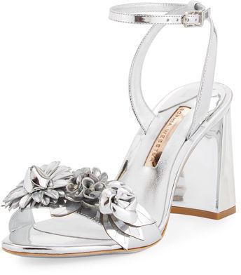 ab57a8c99 ... Sophia Webster Lilico Floral Leather Block Heel Sandal ...