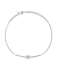 Yeprem 18 Karat White Gold Diamond Necklace