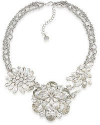 Carolee Lux Haute Hollywood Drama Floral Necklace