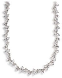 Carolee Necklace Crystal Floral Collar