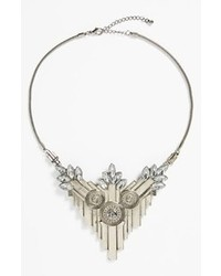 Leith Statet Necklace Silver