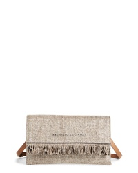 Brunello Cucinelli City Fringe Crossbody Bag