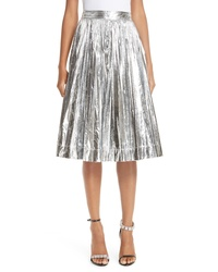 Calvin Klein 205W39nyc Metallic Pleated Skirt