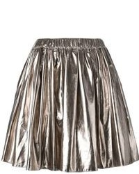 Pleated a line skirt medium 77996