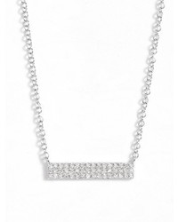 Ef Collection Mini Diamond Pendant Necklace