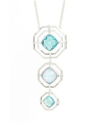 Judith Jack Paradise Tiered Pendant Necklace