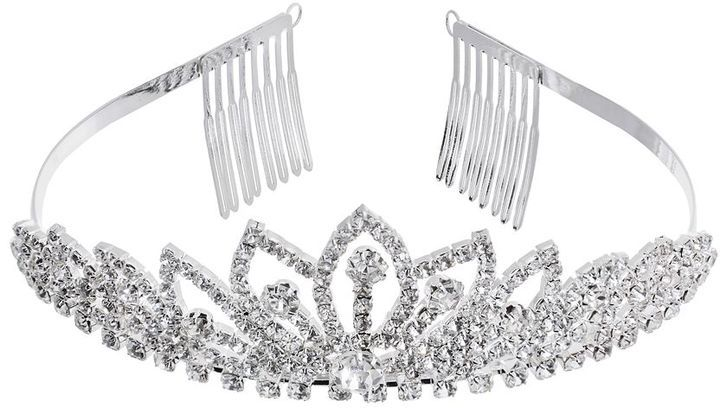 Crystal Allure Lotus Tiara Headband