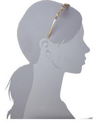 Oscar de la Renta Lattice Pearl Headband