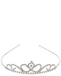 Forever 21 Rhinestoned Tiara Headband