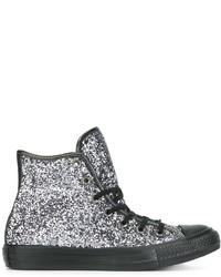 Converse Hi Top Glitter Sneakers