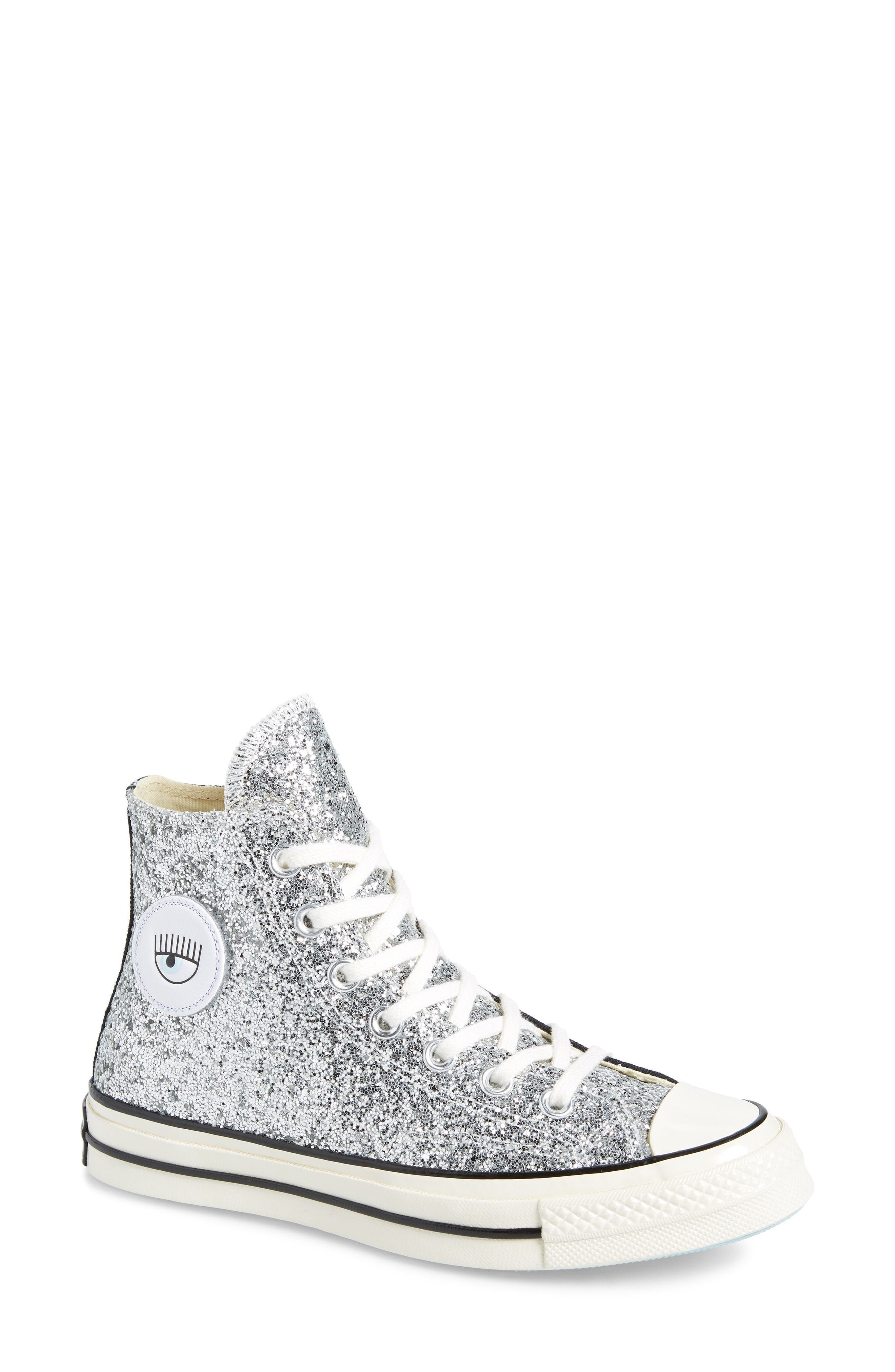 ... Converse X Chiara Ferragni Two Tone High Top Sneaker