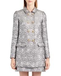 Dolce & Gabbana Dolcegabbana Metallic Jacquard Caban Jacket