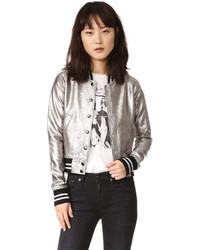 R 13 R13 Shrunken Metallic Jacket