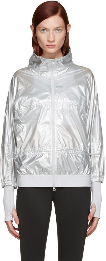 f18fc4709 adidas by Stella McCartney Silver Run Metal Jacket, $250 | SSENSE ...