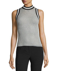 Rag & Bone Priya Mock Neck Wool Knit Tank