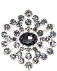 Jones New York Brooch Silver Tone Beaded Starburst Pin Web Id 1018750