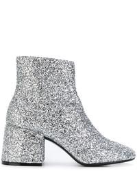 MM6 MAISON MARGIELA Glitter Ankle Boots