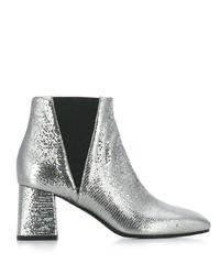 Pollini Metallic Sheen Boots
