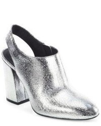 Michael Kors Michl Kors Collection Clancy Metallic Leather Booties