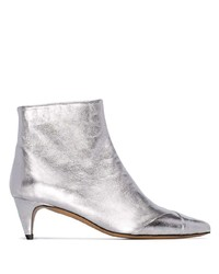 Isabel Marant Silver Durfee 60 Ankle Boots