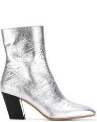 IRO Slanted Heel Ankle Boots