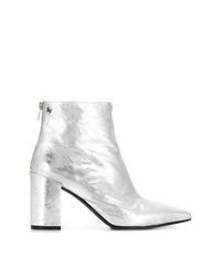 Zadig & Voltaire Zadigvoltaire Metallic Heeled Boots