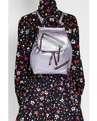 Metallic leather backpack medium 3765019
