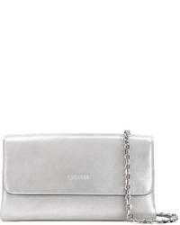 Casadei Logo Embossed Shoulder Bag