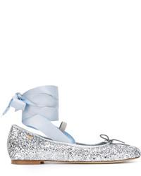 Lace up ballerinas medium 3661748