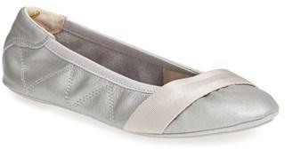 Puma Rhythm Leather Ballet Flat, $79