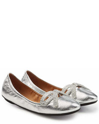 Marc Jacobs Willa Leather Ballerinas