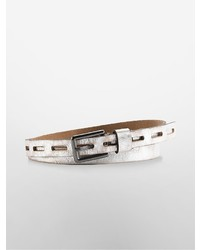 Calvin klein perforated strap leather belt medium 698709