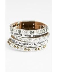 Good work make a difference dream metallic bracelet medium 70945