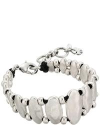 Hammered leather bracelet bracelet medium 5077773