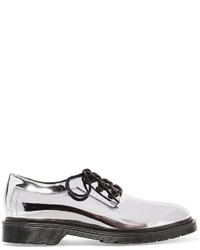 Silver Leather Brogues