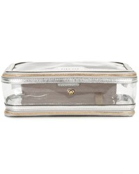 Anya Hindmarch Metallic Detailed Clutch
