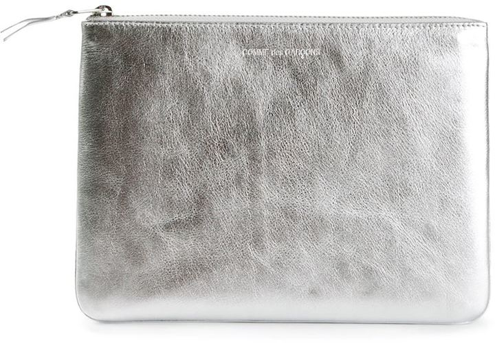 Cheap Release Dates Cheap Cheap Online Comme Des Gar莽ons Wallet 'Silver' zip purse From China Free Shipping Best Prices Wiki For Sale 3T0fRB8tMo