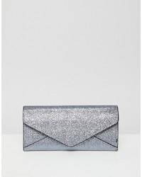 New Look Glitter Envelope Purse Glitter