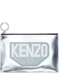 Kenzo Silver Flying Luce Pouch