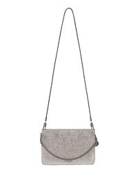 Givenchy Cross 3 Leather Crossbody Bag