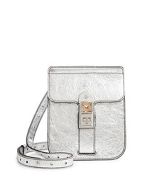 Proenza Schouler Ps11 Box Metallic Leather Crossbody Bag