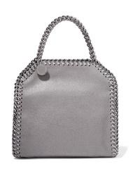 Stella McCartney The Falabella Tiny Faux Brushed Leather Shoulder Bag