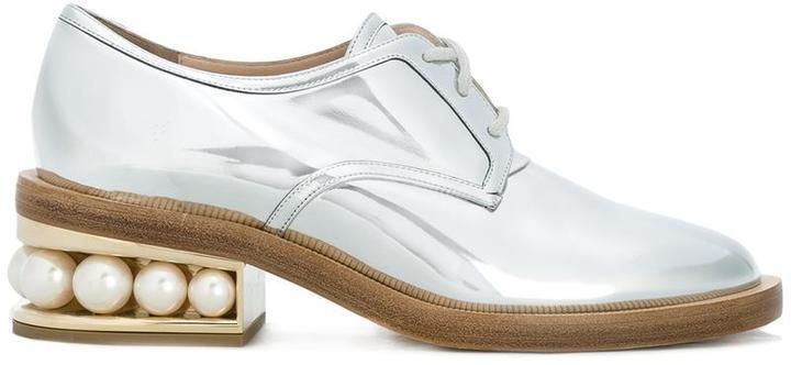 Nicholas Kirkwood 35mm Casati Pearl Derby Shoes