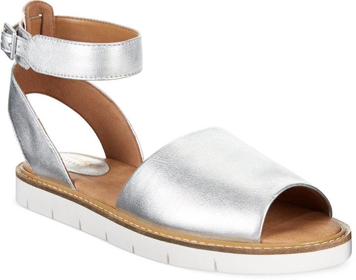 ... Clarks Artisan Lydie Hala Flat Sandals ...