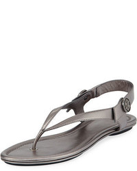 Minnie metallic flat travel sandal medium 4380756