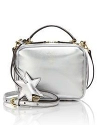 Laura baby metallic leather camera bag medium 3640001
