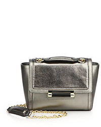 Diane von Furstenberg Mini Metallic Leather Satchel