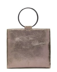 THACKE R Le Pouch Leather Ring Handle Crossbody Bag